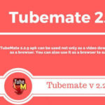 Tubemate 2.2.9 APK Free Download [Tubemate Latest Version Downloader]