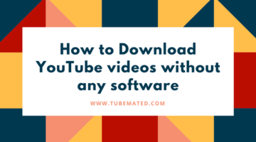 How to Download Youtube Video Without Software ?