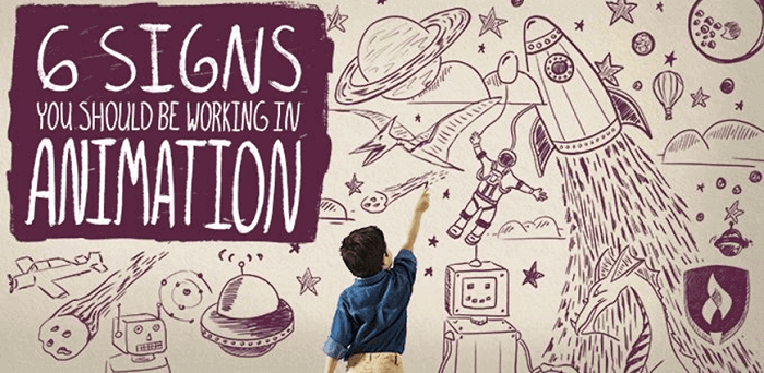 6 signs of animation