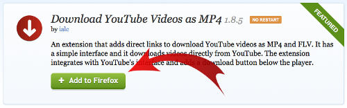 YouTube video download for PC
